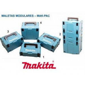 CAIXA PLASTICA MODULAR MAK-PAC TIPO 1 MAKITA