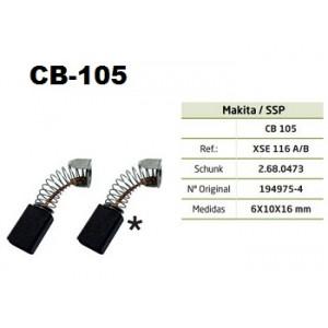 ESCOVA CARVAO CB105 - MAKITA