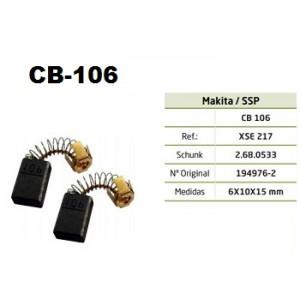 ESCOVA CARVAO CB106 - 8406-3606-M3601G