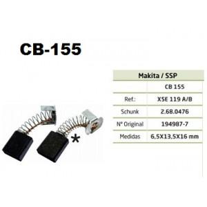 ESCOVA CARVAO CB155 - MAKITA