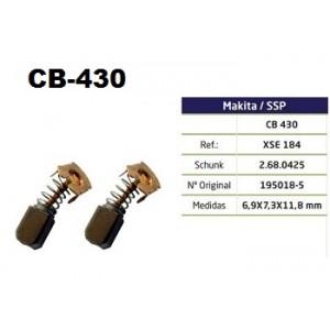 ESCOVA CARVAO CB430 - 4331D/4333D/6207D/6217D/6319D/6333D/6337D/6339D/6349D/8413D/8414D/8434D/8444D/BCS550/BGA450/BGA452/BHR162/ BHR200/BJV140/BJV180/BPB18