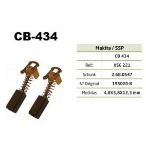 ESCOVA CARVAO CB434 - MAKITA