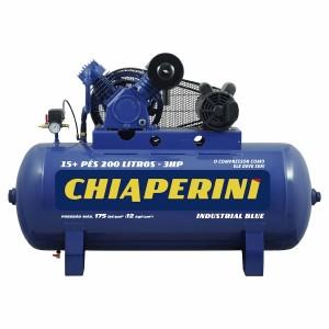 COMPRESSOR 15,0 PES X 200LTS X 140LBS MONO 3CV BLUE CHIAPERINI
