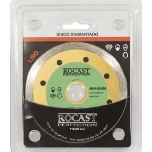 DISCO DIAMANTADO 110MM LISO ROCAST