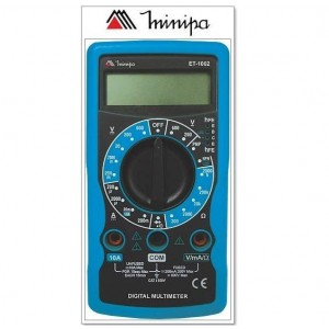 MULTIMETRO DIGITAL ET1002 - 10AMP MINIPA