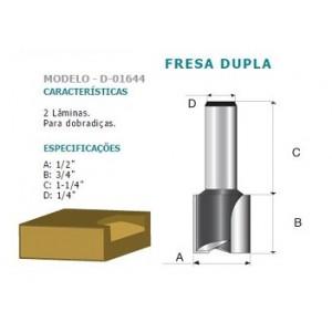 FRESA DUPLA DOBRADICA INT HT 1/4 D01644 MAKITA