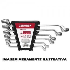 JOGO CHAVE ESTRELA 1/4 A 1.1/4 - 8P G.CR-V GEDORE-RED