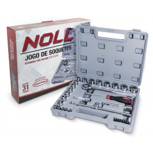 JOGO SOQUETES 1/2 31P MM DIVERSOS NOLL