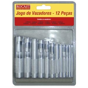 JOGO VAZADOR 3 A 19 MM 12 PCS ROCAST