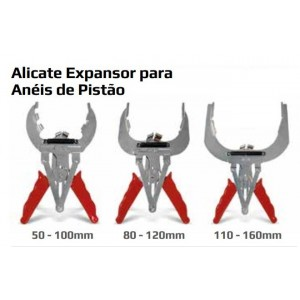 ALICATE EXPANSOR ANEIS PISTAO 080 A 120MM NOLL