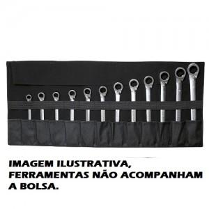 BOLSA FERRAMENTAS 12 COMPARTIMENTOS GEDORE-RED