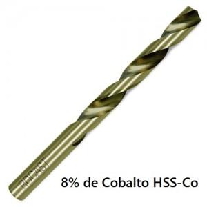 BROCA HSS COB 5,0 MM COBALTO ROCAST
