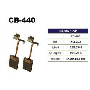 ESCOVA CARVAO CB440 - BDF440/BDF441/BDF442/BDF450/BDF451/BDF452/BFR440/BHP440/BHP441/BHP450/BHP451/BTD130F/BTD140/BTP130/BTP140/BTS130/BTW250/BTW251/BFR540/BTD135RHE