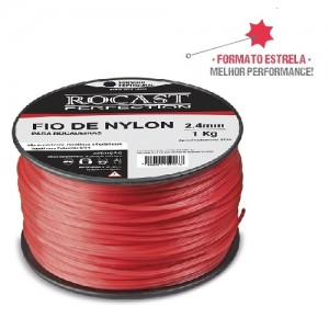 REFIL FIO NYLON BOBINA 308 MTS - 3,0 MM