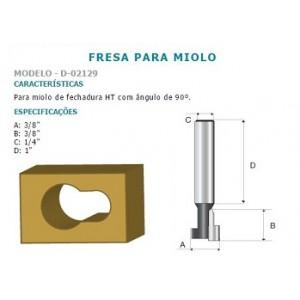 FRESA MIOLO FECHADURA HT 1/4 D02129 MAKITA