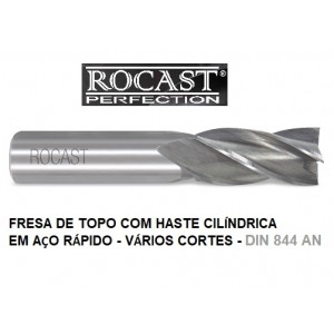 FRESA TOPO HSS  16,0MM C/04 CORTES