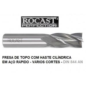 FRESA TOPO HSS  22,0MM C/04 CORTES