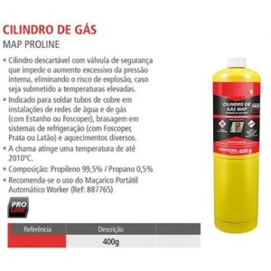 GAS CILINDRO 400GRS MAPP