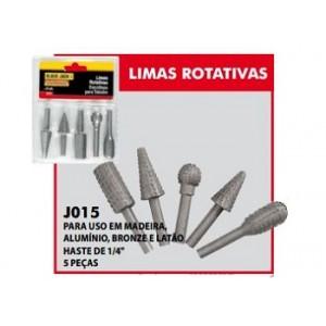JOGO LIMA ROTATIVA 5 PECAS PARA MADEIRA BLACKJACK
