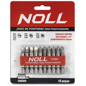 JOGO PONTAS 10PCS FEN/PHIL NOLL