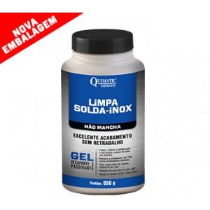 LIMPA SOLDA INOX GEL NAO MANCHA 800 ML TAPMATIC