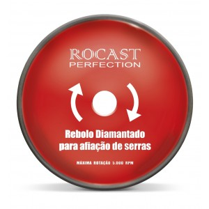 "DISCO REBOLO DIAM AFIAR VIDIA  6"" - 150 X 5 X 1,5 X 20MM ROCAST"